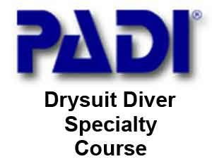 PADI Dry Suit
