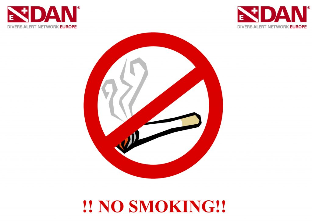 DAN Europe - NO Smoking!